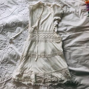 Women's Blouse with Lace Detail